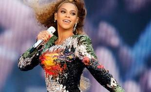 Beyoncé à Cologne en Allemagne.
