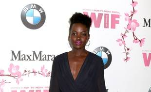 L'actrice Lupita Nyong'o à l'événement  Women in Film celebrates the 2017 Crystal and Lucy Awards.