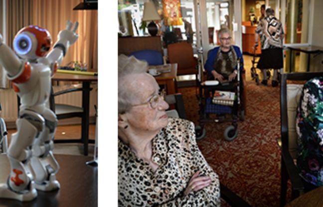 Des robots pour aider les personnes âgées dans les homes