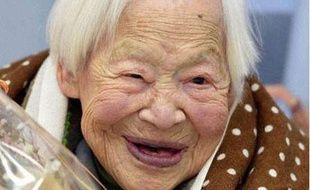 Misao Okawa, la Japonaise la plus âgée du monde.
