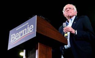Bernie Sanders, le candidat démocrate, lors d'un meeting à Denver dans le Colorado, le 16 février 2020.