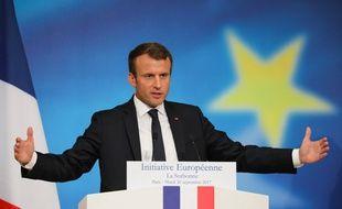 Emmanuel Macron a présenté ses mesures pour refondre l'Europe