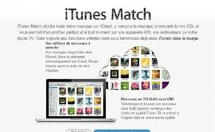 iTunes Match  d'Apple permet d'héberger votre musique sur le cloud.