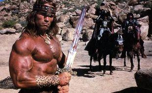Arnold Schwarzenegger dans le film «Conan le Barbare» sorti en 1982.