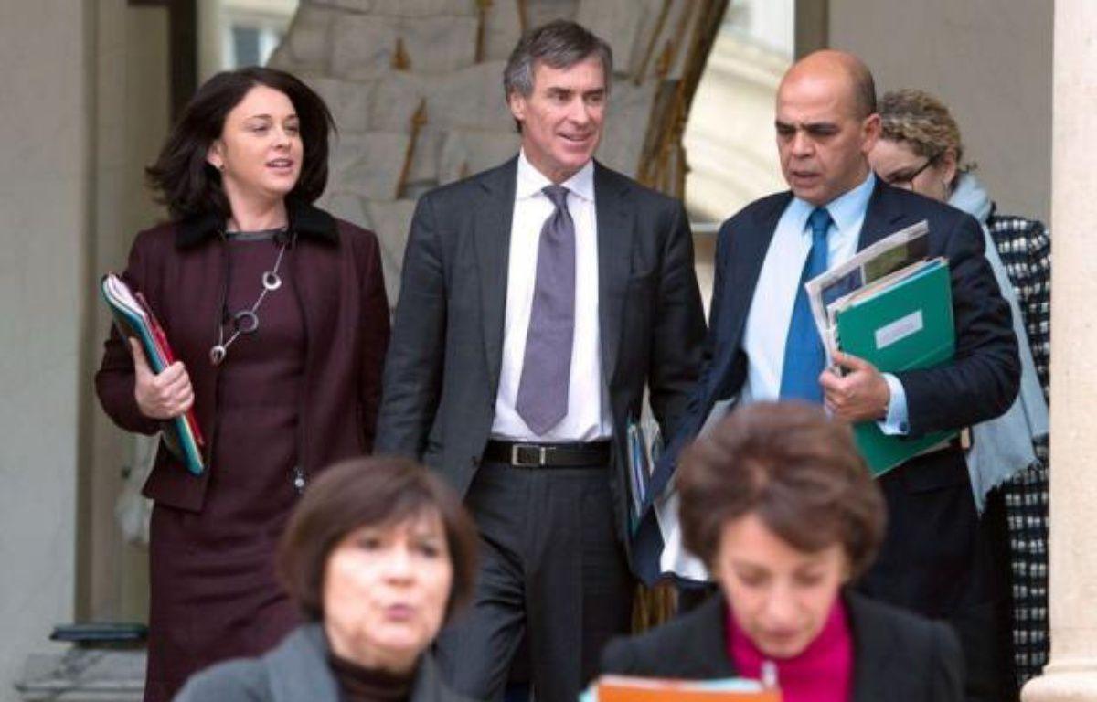 Le ministre délégué au Budget, Jérôme Cahuzac, accusé par Mediapart d'avoir détenu un compte secret en Suisse, négocie avec la banque UBS, via son avocat suisse, pour qu'elle produise la preuve du contraire, – Bertrand Langlois afp.com