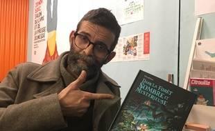 Winshluss le 30 novembre 2016 au salon du Livre jeunesse de Montreuil