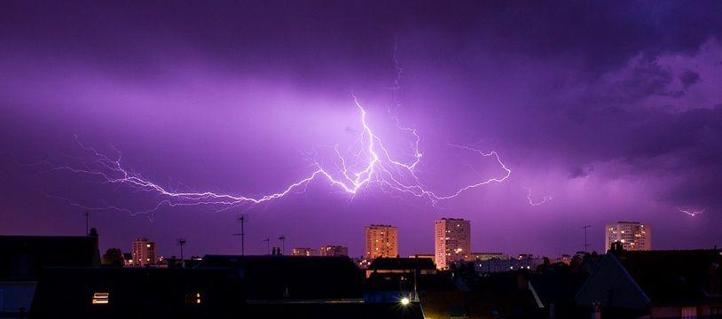 Attention aux orages !