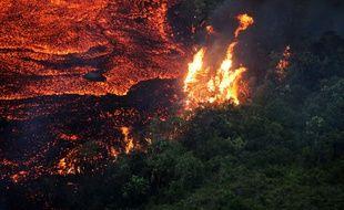 Le Piton de la fournaise était entré en éruption en octobre 2019.
