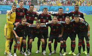 L'Allemagne avec son deuxième maillot face aux Etats-Unis, le 26 juin 2014, à Recife.