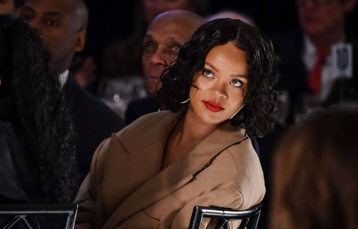 Certains attribuent la prise de poids de Rihanna à une grossesse – Lovekin/WWD/Shutterstoc/SIPA