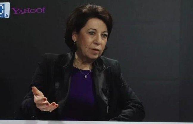 Corinne Lepage, candidate à l'élection présidentielle