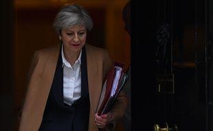 La Première ministre, Theresa May, le 29 mars 2017, le jour du déclenchement officiel du Brexit.