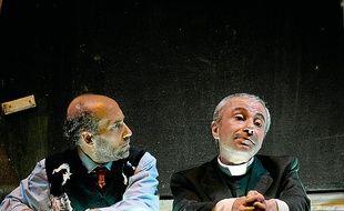 Giu, une pièce de la Compagnie Scimone Sframeli.