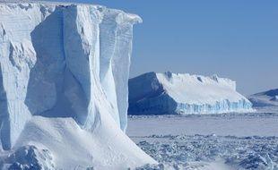 Une illustration de l'Antarctique.