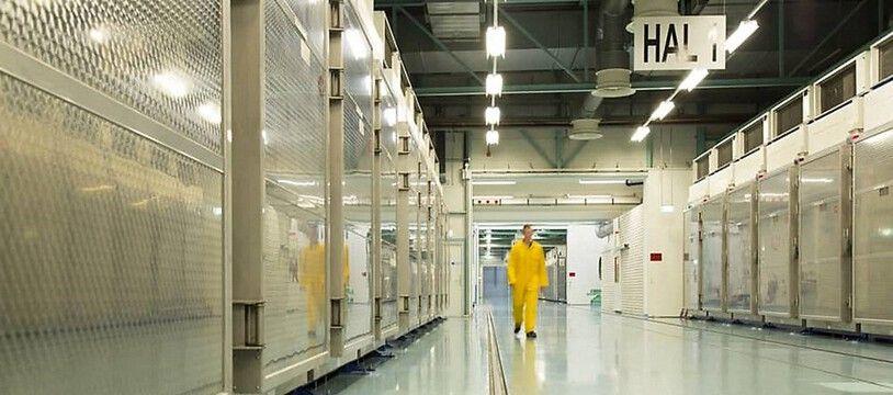 L'usine souterrain de Fordo, où l'Iran enrichit de l'uranium (image d'illustration).