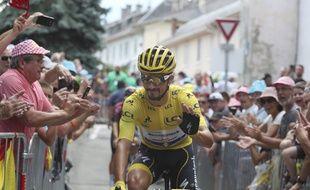 Julian Alaphilippe a porté le maillot jaune pendant 14 jours.