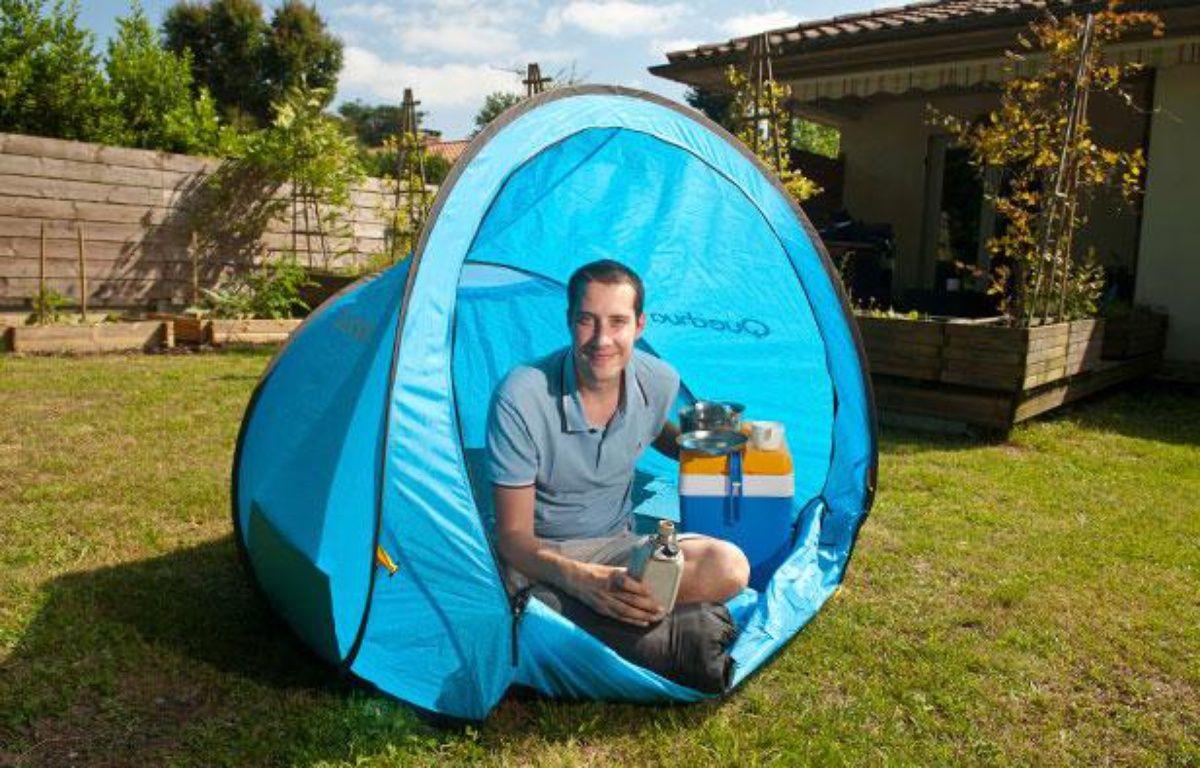 Olivier Lameaux, un Pessacais de 33 ans, propose un site de camping collaboratif – S.ORTOLA/20MINUTES