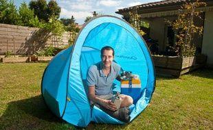Olivier Lameaux, un Pessacais de 33 ans, propose un site de camping collaboratif