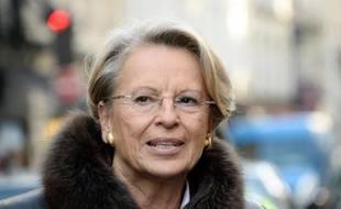 L'ancienne ministre de la Justice Michèle Alliot-Marie à Paris, le 5 décembre 2013