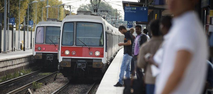 Train du RER B (illustration)