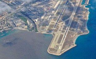 L'aéroport de Nice.