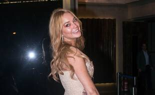 L'actrice et chanteuse Lindsay Lohan