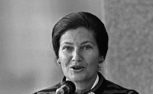 Simone Veil, le 16 septembre 1975