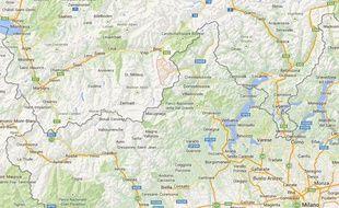 Simplon dans le canton du Valais (Suisse)