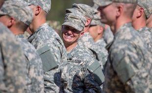 Illustration: depuis 2016, les Rangers de l'armée américaine acceptent les femmes.