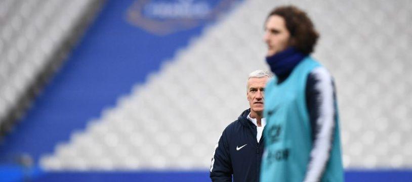 Adrien Rabiot et Didier Deschamps