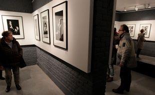 Exposition consacrée à Helmut Newton à la Maison de la Photographie de Lille.