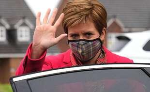 La Première ministre écossaise, Nicola Sturgeon, le 8 mai 2021