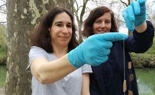 Sonia Rousse et Mélina Macouin, chercheuses au sein du laboratoire Géosciences Environnement Toulouse ont lancé il y a un an NanoEnvi.