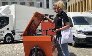 Filiale de La Poste, la société Urby s'est spécialisée dans la livraison urbaine à vélo. Comme elle, de nombreuses entreprises de livraison ont signé une charte à Rennes.