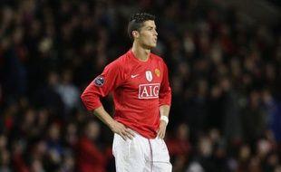 Le joueur de Manchester United, Cristiano Ronaldo lors d'un match de Ligue des champions face à Porto le 7 avril 2009.