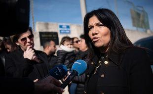 Samia Ghali en février 2020