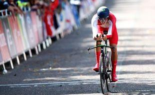 Alex Dowsett aux Jeux du Commonwealth 2014.