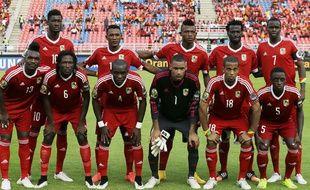 La sélection congolaise a été éliminée en quart de finale de la CAN2015.