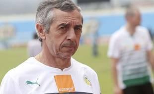 Alain Giresse a quitté son poste de sélectionneur du Sénégal.
