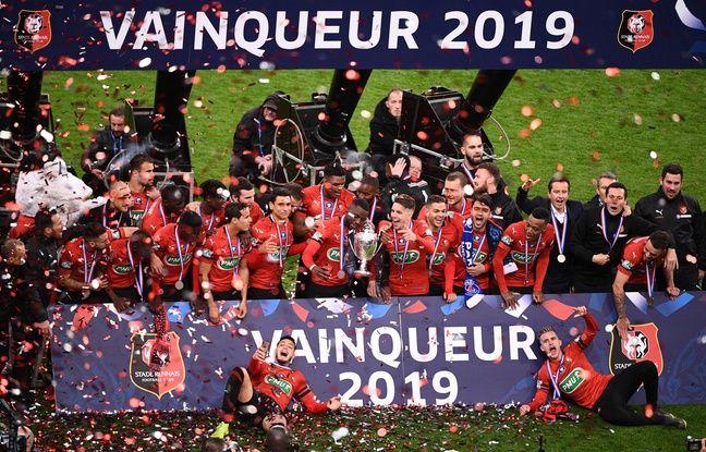 Stade Rennais: Un an après, les supporters revivent la victoire en Coupe de France sur les réseaux