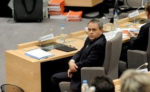 Xavier Bertrand, lors de son investiture à la tête du conseil régional Nord-Pas-de-Calais/Picardie.