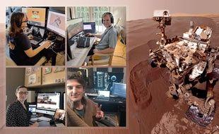 Les ingénieurs de la Nasa dirigent Curiosity depuis chez eux.