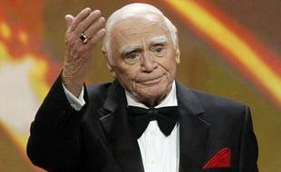 L'acteur américain Ernest Borgnine, le 30 janvier 2011, lors de la 17e cérémonie des Oscars.