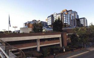 Vue du Palais de justice de Bobigny réalisée le 08 novembre 2005
