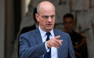 Jean-Michel Blanquer le  24 octobre 2018 à l'Elysée. (Eric FEFERBERG / AFP)