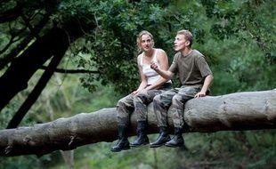 Adèle Haenel et Kevin Azaïs dans Les Combattants