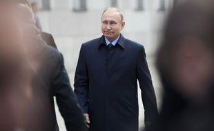 Vladmir Poutine, le 4 mai 2017 à Moscou.
