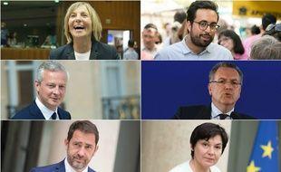 Marielle de Sarnez, Mounir Mahjoubi, Bruno Le Maire, Richard Ferrand, Christophe Castaner et Annick Girardin doivent gagner dans leur circonscription sous peine de devoir quitter le gouvernement.