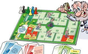 Le jeu de société montpelliérain Docteur Pilule.