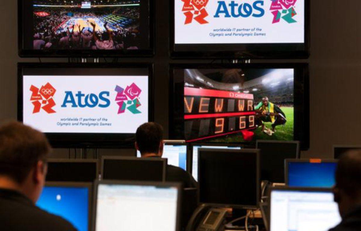 L'entreprise française Atos est chargée de gérer et sécuriser le système informatique aux Jeux Olympiques de Londres. – ATOS